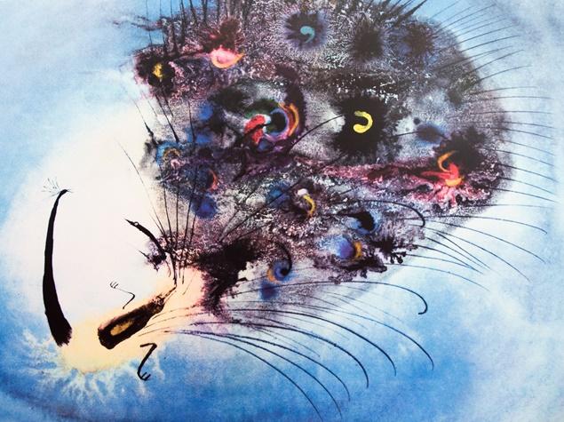 4. Józef Wilkoń, ilustracja do książki Przygoda pewnego pawia, 1966